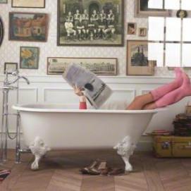Iron Works Historic Kohler чугунная ванна на ножках