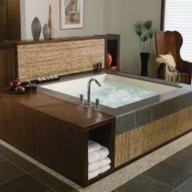 Consonance Kohler встраиваемая квадратная ванна из акрила 180х180см премиум уровня с гидромассажем