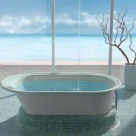 Iron Works® Kohler встраиваемая чугунная ванна с аэро гидром массажем