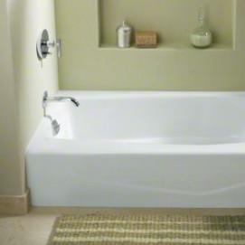 Villager Kohler встраиваемая ванна из эмалированного чугуна с интегрированным экраном 152х77 152х87 см