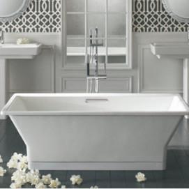 Reve Kohler ванна из чугуна свободностоящая прямоугольная 170х80