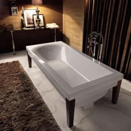 Bentley Kerasan ванна дизайнерская отдельностоящая 180х80 см прямоугольная