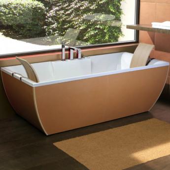KaliArt Blu Bleu ванна с отделкой из натуральной кожи
