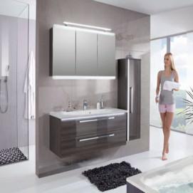 Mondo Gloss комплект мебели для ванной Puris