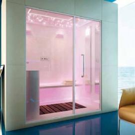 Sensity King Size 1 душевая кабина с паром (хаммам) Moma Design 2250х1500 H2350 мм