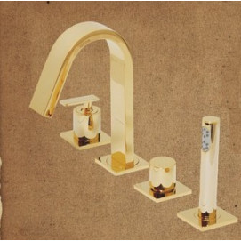 ML.ALC-5755 CR Alimatha смеситель для ванны Migliore