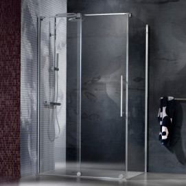 5923 Glass Shower - Box in aluminium Modus душевая кабина Blu Bleu