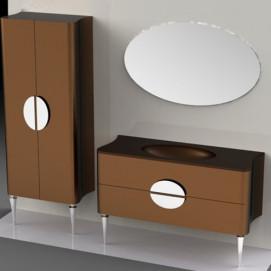 Composizione 2 Moka комплект мебели для ванной Eurolegno