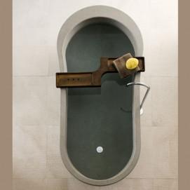 ALONE Neutra ванна из камня овальная 190х90см