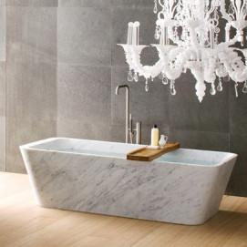 DUO Neutra ванна из натурального камня 180х90см