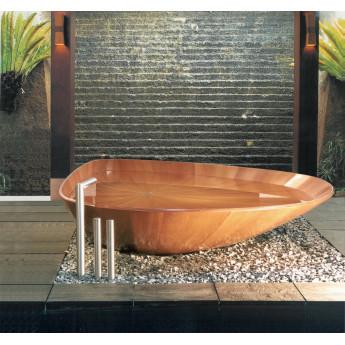Ocean Shell ванна из дерева Bagno Sasso