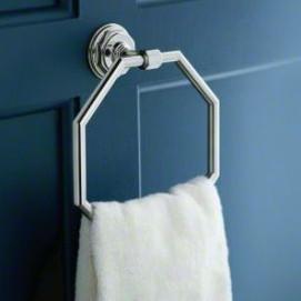 Pinstripe Kohler Аксессуары для ванной в стиле ар-деко хром никель глянцевый или матовый