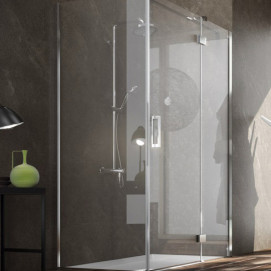 5921 Glass Shower - Box in aluminium Plan душевая кабина Blu Bleu