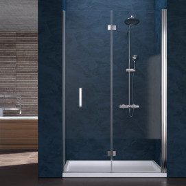 5922 Glass Shower - Box in aluminium Ray душевая кабина Blu Bleu