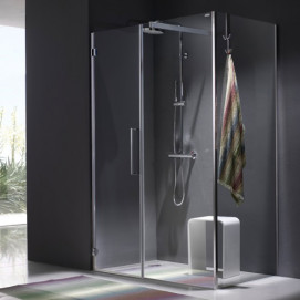 5919 Glass Shower - Box in acciaio Solo душевая кабина Blu Bleu
