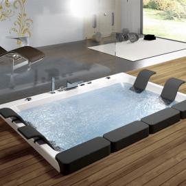 Thais Blu Bleu большая встраиваемая ванна из акрила