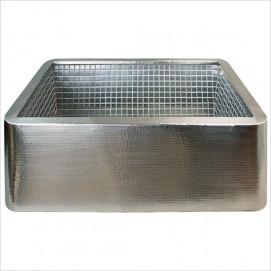 V030 фермерская мойка для кухни из бронзы сатин никель с металлической мозаикой Stainless Steel Mosaic Linkasink