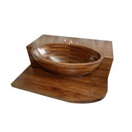 Ванна из дерева встроенная Vanala UWD