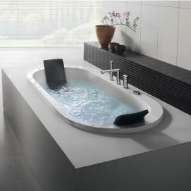 Yuma Blu Bleu ванна встраиваемая овальная