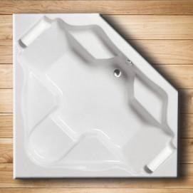Afra Mauersberger ванна из акрила угловая 170х170 без или с гидро- аэромассажем