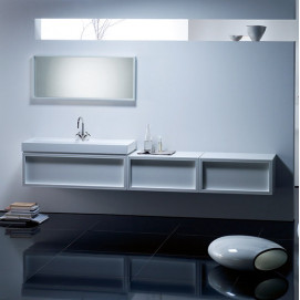 Композиция №2 Uomo комплект мебели для ванной комнаты Burgbad