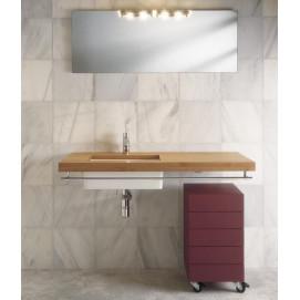 """Block Комплект мебели L120 см, отделка дерево мат """" Тик """" MOAB"""