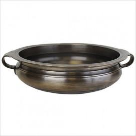 B001 раковина чаша с ручками Bronze Bowl with Handles Linkasink