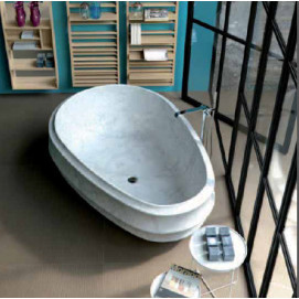BURLESQUE Ванна из камня SIGN design Giorgio Silla