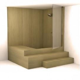 Danao UWD Ванна деревянная встроенная