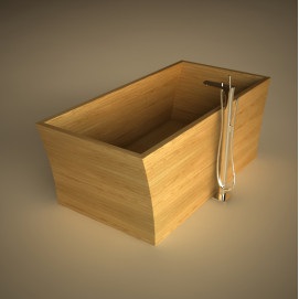 Ванна деревянная свободностоящая Dar D UWD