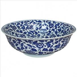 SM001 Canton Linkasink раковина для ванны с рисунком с китайской вазы династия Юань