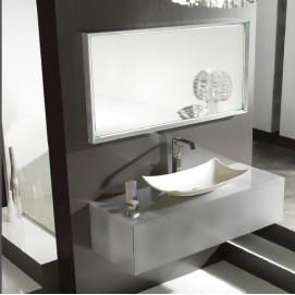 Eden120 Комплект мебели:тумба с раковиной+зеркало Ambiance Bain