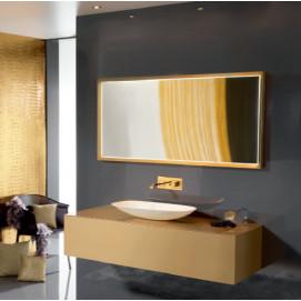 Eden140 Комплект мебели:тумба с раковиной+зеркало Ambiance Bain