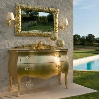 LUXURY 01 Комплект мебели L142 см, отделка Золотая фольга. Etrusca.