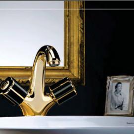Fleur Noir Коллекция смесителей для ванной комнаты Bongio