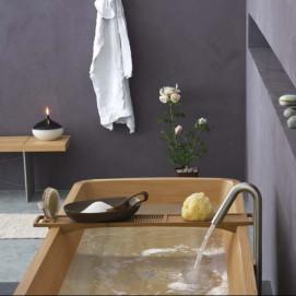 подставка столик на ванну из дерева BRIDGE Franco Ceccotti