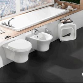 100082650 - N399999962 Hotels Комплект из подвесного унитаза со стульчаком soft-close