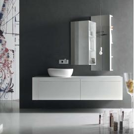 Composition 1 Meta Комплект мебели для ванной Arcom
