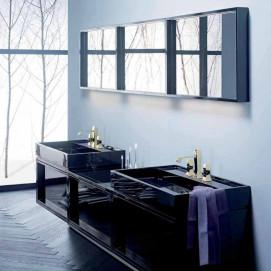 Композиция №3 Uomo Vogue комплект мебели для ванной комнаты Burgbad