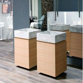 Комплект мебели «Lunaria» №1 отделка фасада «Wood»