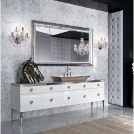 Millidue MAJESTIC 02 комплект мебели для ванной комнаты в отделке VETRO