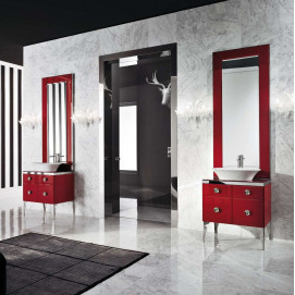 Millidue MAJESTIC 03 Комбинация ванной комнаты в отделке VETRO