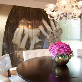 Стеновая панель, влагостойкая из алюминия с изображением WOMAN Стоимость за м2.