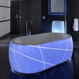 Neon Mauersberger ванна акриловая свободностоящая в футуристическом стиле