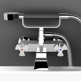 BT250 Belmondo смеситель для ванны настенный с душем IB Rubinetterie