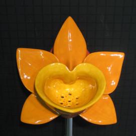 Orange Orchid Urinal писсуар оранжевая орхидея Clark Made