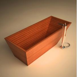 Ванна деревянная отдельностоящая Rappa UWD