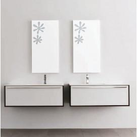 "SUMMIT 22 Комплект мебели L100, отделка шпон ""Wenge. Bianco lux"" Mastella"