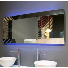IEGALED Зеркало с блестящей кромкой со светодиодной подсветкой на раме из полированной стали Antonio Lupi
