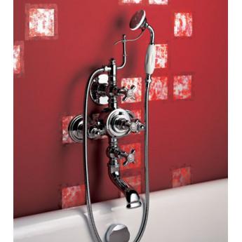 Наружный термостатический настенный смеситель для ванны/душа Herbeau Royale